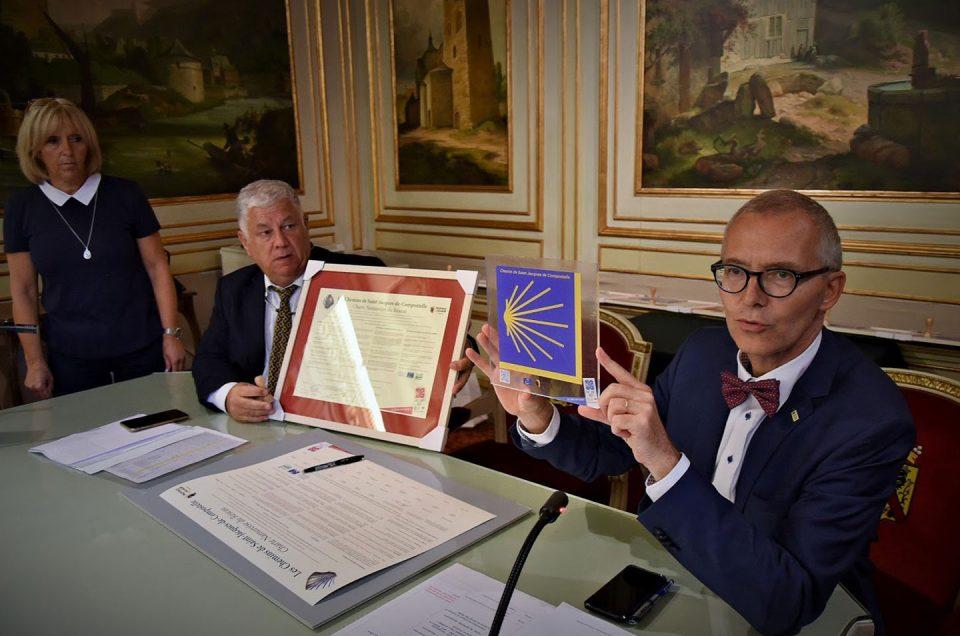 Los municipios de Namur suscriben la Carta del Camino de Santiago