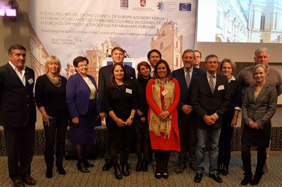 Vilna acoge el VI Foro Consultivo Anual de Rutas Culturales