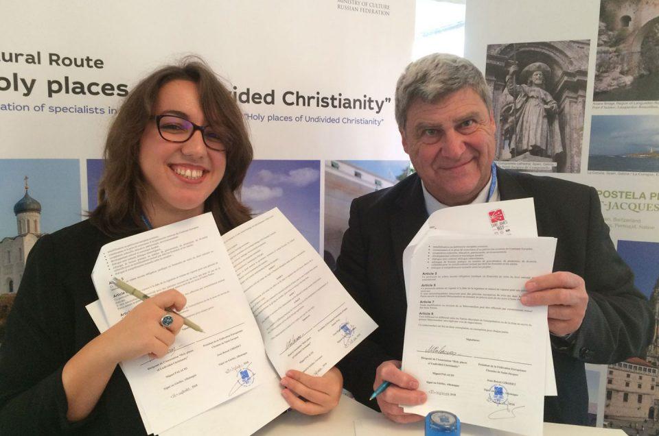 Acuerdo con la Asociación Santos Lugares del Cristianismo Indiviso