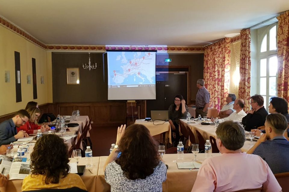 First steering committee of the Creative Loci Iacobi Project
